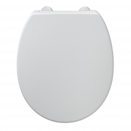Armitage Shanks S406501 Contour 21 Seat And Cover With Top Fixing Hinges White