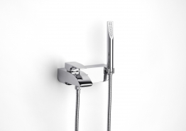 Roca 5a0150c00 Thesis Wall Mounted Bath Shower Mixer