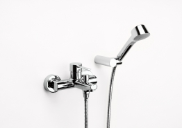 Roca 5a0160c00 Targa Wall Mounted Bath-shower Mixer