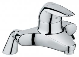 Grohe Eurodisc Bath Filler To Deck Mount Add Unions