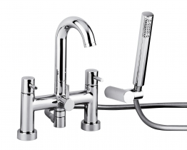 Abode Ab1186 Harmonie Bath Filler And Shower Chrome