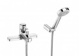 Roca 5a1860c00 Targa Deck Mounted Bath Shower Mixer