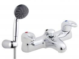 Iflo Bilbao Bath Shower Mixer Tap Brass