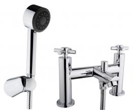 Iflo Calm Bath Shower Mixer Tap Brass