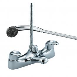 Bristan J Bsm C Java Deck Mounted Bath Shower Mixer Chrome & Kit
