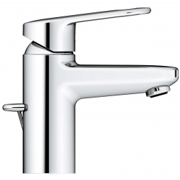 Grohe Europlus Basin Mixer 1 Tap Hole Pex Hoses Pop Up Waste Set 35mm