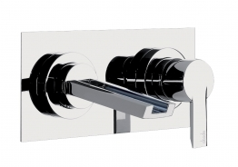 Abode Ab1354 Desire Wall Mounted Basin Spout Chrome