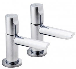 Iflo Spa Basin Taps Chrome