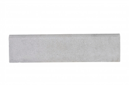 Marshalls Roundtop Edging White 600mm X 150mm X 50mm