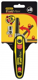 Stanley Fatmax Locking Hex Keys Pack 9