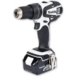 Makita Dhp456rmwx1 18v Combi White Drill