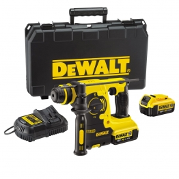 Dewalt 18v Xr Heavy Duty 3 Mode Hammer Drill Dch253m2 C/w 2x4.0ah Batteries