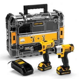 Dewalt Dck211d2t 10.8v Li-ion Twin Pack