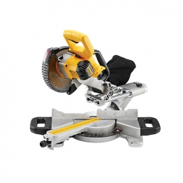 Dewalt Dcs365m2 Mitre Saw 18v Cordless 184mm With Saw Blade, Body Only