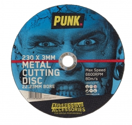Punk Metal Cutting Disc 230mm