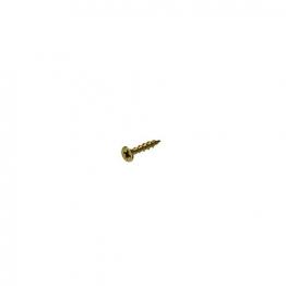Bullet 4.0 X 25mm Gold Wood Screw (250)