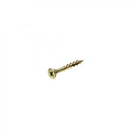Bullet 6.0 X 50mm Gold Wood Screw (250)