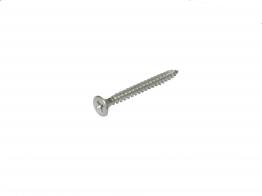 4trade Woodscrew Pozi Countersunk 5x50mm Stainless Steel Pk200