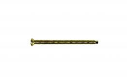 4trade Electrical Screw Extra Long 50mm Brass Pk50