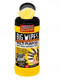 Big Wipes 4x4 Multipurpose Wipes Box 100