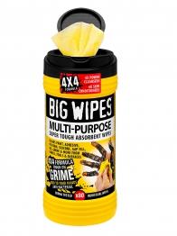 Big Wipes 4 X 4 Formula Multi-purpose Super Tough, Absorbent Wipes