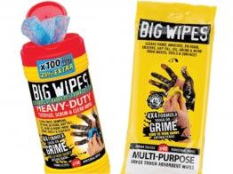 Big Wipes 4 X 4 Heavy Duty Wipes 25% Extra Free + 40 Multi Wipes Free