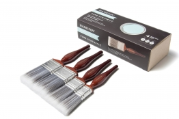 Hamilton Perfection Synthetic Brush Box Set 1 X 1.0in, 1 X 1.5in And 2 X 2.0in
