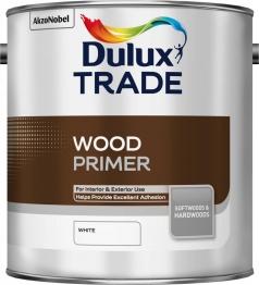 Dulux Wood Primer White 2.5l