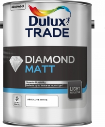Dulux Diamond Matt Light & Space Absolute White 5l