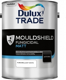 Dulux Paint 5lt Pure Brilliant White Mouldshield Matt