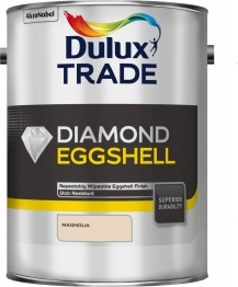 Dulux Diamond Paint Trade Eggshell Magnolia 5l