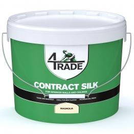 4trade Trade Contract Silk Emulsion Paint Magnolia 10l