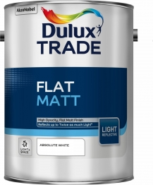 Dulux Flat Matt Light & Space Absolute White 5l