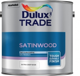 Dulux Paint Trade Satinwood Extra Deep 2.5l