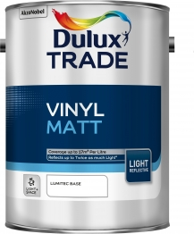 Dulux Vinyl Matt Light & Space Absolute White 5l
