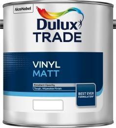 Dulux Trade Vinyl Matt Tinted Colour 2.5l