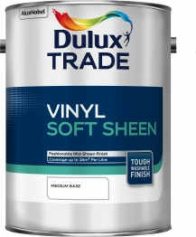 Dulux Trade Vinyl Soft Sheen Tinted Colour 5l