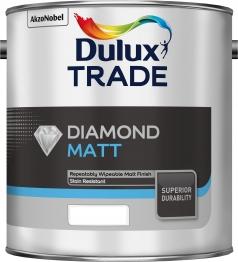 Dulux Trade Diamond Matt Tinted Colour 2.5l