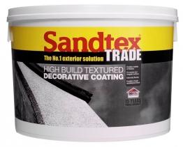 Sandtex Trade Highbuild Light Magnolia 15kg