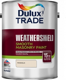 Dulux Smooth Masonry Paint Magnolia 5l