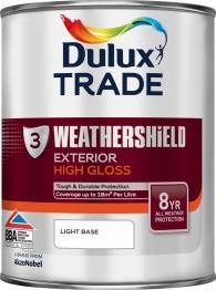 Dulux Paint Colour Dimensions Weathershield Exterior Gloss Light 1l