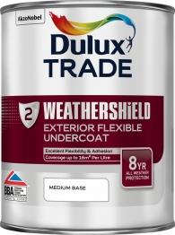Dulux Paint Colour Dimensions Exterior Undercoat Weathershield Medium 1l