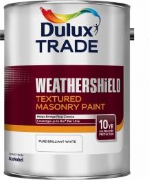 Dulux Weathershield Textured Masonry Pure Brilliant White 5l