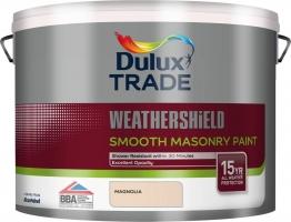 Dulux Paint Smooth Masonry Paint Magnolia 10l