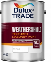 Dulux Paint Colour Dimensions Weathershield Textured Masonry Paint Light 5l
