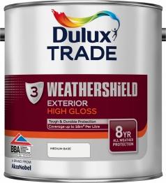 Dulux Paint Weathershield Colour Dimensions Exterior Gloss Medium 2.5l