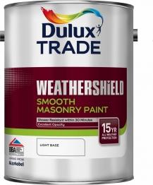 Dulux Weathershield Smooth Masonry Paint Colour Dimensions Light 5l