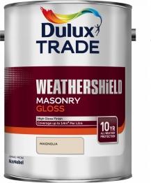 Dulux Weathershield All Seasons Smooth Masonry Magnolia 5l