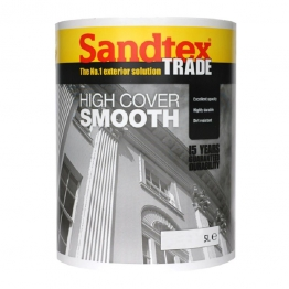 Sandtex Masonry Paint High Cover Smooth Light Cream 5l