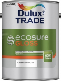 Dulux Ecosure Gloss Pure Brilliant White 5l